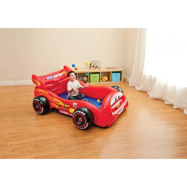 Aire de jeu gonflable Intex Cars