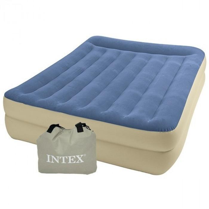 matelas lectrique intex rest bed bleu sable 2 personnes raviday matelas. Black Bedroom Furniture Sets. Home Design Ideas