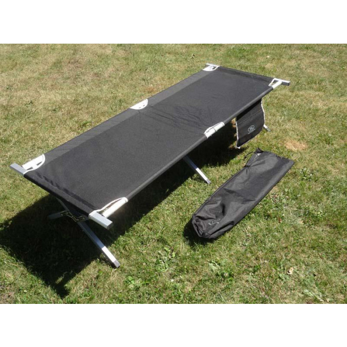 lit de camp pliable en aluminium prix d gressifs. Black Bedroom Furniture Sets. Home Design Ideas
