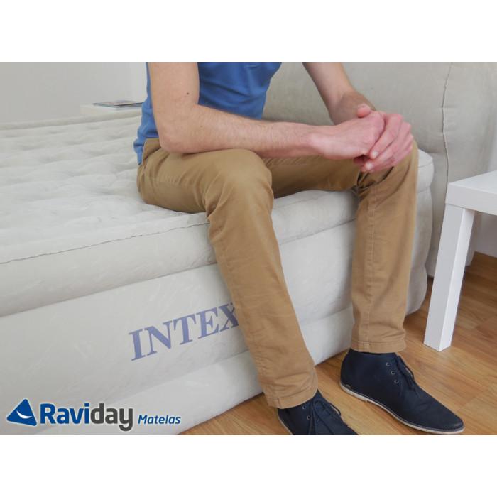 lit gonflable lectrique 2 personnes intex headboard bed fiber tech raviday. Black Bedroom Furniture Sets. Home Design Ideas