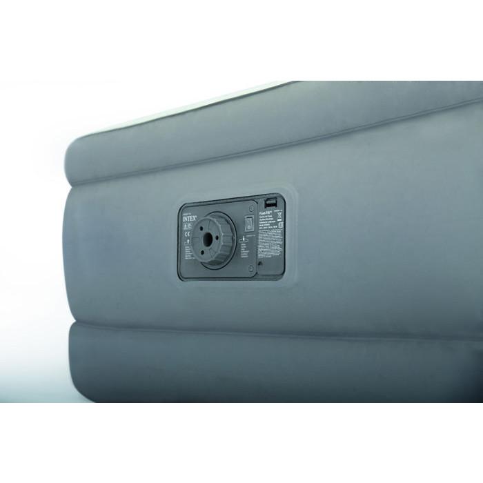 lit gonflable intex prem 39 air 1 personne au meilleur prix chez raviday. Black Bedroom Furniture Sets. Home Design Ideas