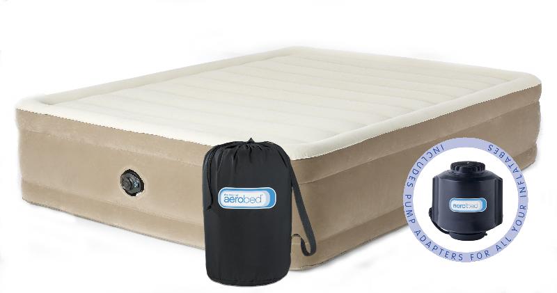 lit gonflable deux personnes aerobed confort plus epuise. Black Bedroom Furniture Sets. Home Design Ideas
