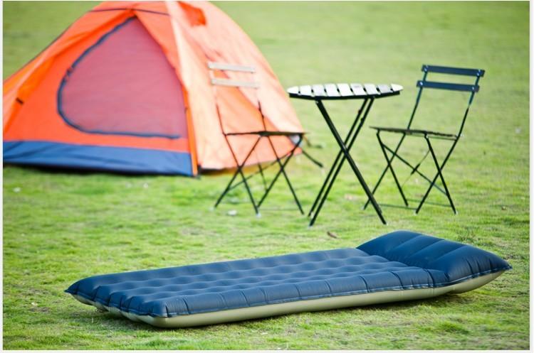 Matelas pneumatique pour le camping