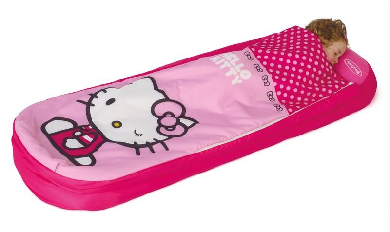 Matelas gonflable hello kitty lit gonflable pour fille de 3 6 ans readybed - Lit pour fille de 6 ans ...