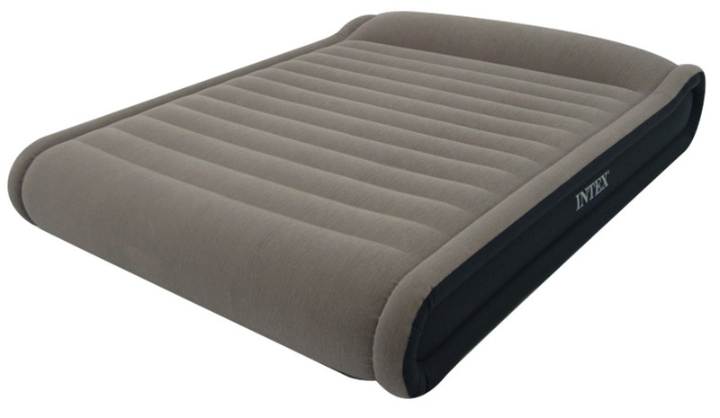 matelas lectrique gonflable 2 places intex mid rise deluxe. Black Bedroom Furniture Sets. Home Design Ideas