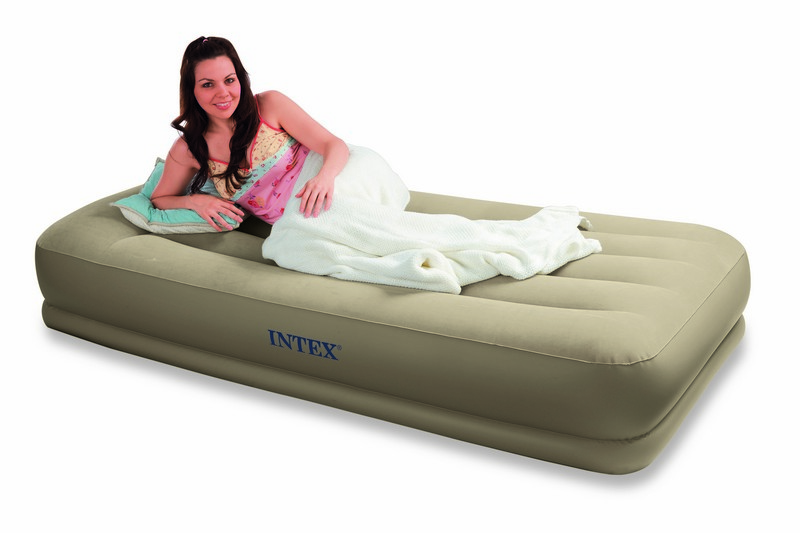matelas lectrique gonflable 1 place intex mid rise. Black Bedroom Furniture Sets. Home Design Ideas
