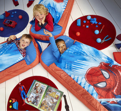 Ambiance Readybed enfants Spiderman plusieurs
