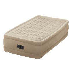 matelas lectrique lit d 39 appoint 1 personne intex ultra plush. Black Bedroom Furniture Sets. Home Design Ideas