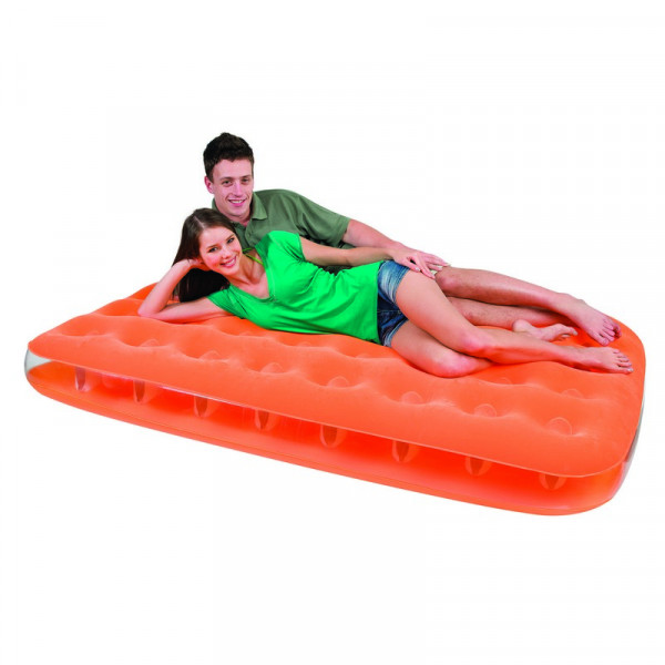 Matelas gonflables 2 personnes Bestway Fashion Orange - EP