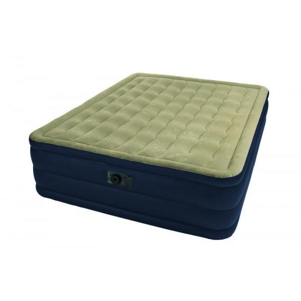 Matelas électrique gonflable Intex Plush Bed 2 personnes