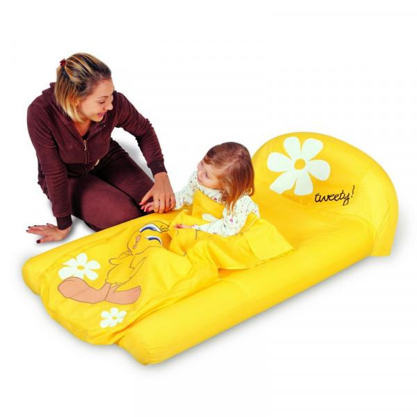 Lit d 39 appoint gonflable pour enfant partir de 2 ans bestway titi - Lit enfant gonflable ...