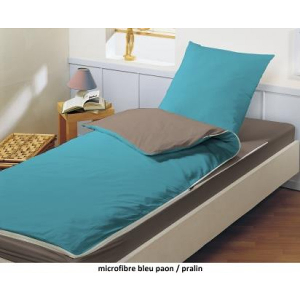 combicouette bleu calin pour matelas gonflable 1 personne bleu paon pralin raviday matelas. Black Bedroom Furniture Sets. Home Design Ideas