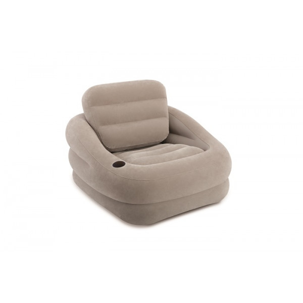 Fauteuil gonflable Intex Square Gris