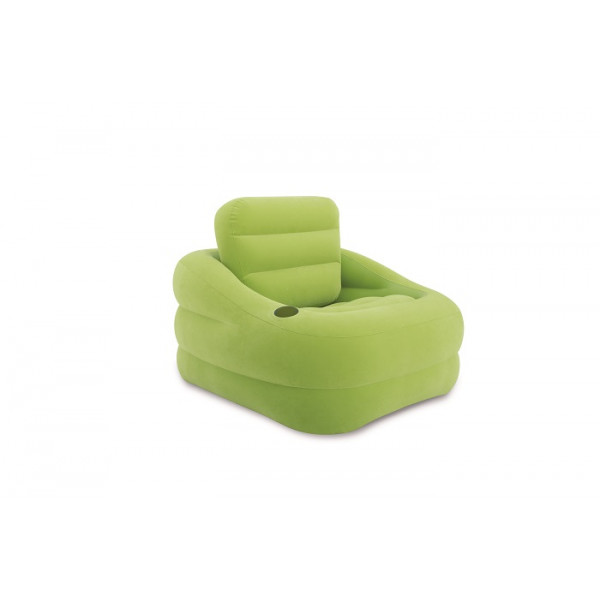 Fauteuil gonflable Intex Square Vert