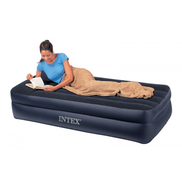 Matelas Lectrique Gonflable Simple 1 Place Intex Rest Bed
