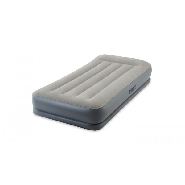 Lit gonflable électrique 1 place Intex Pillow Rest Mid-Rise Fiber-Tech