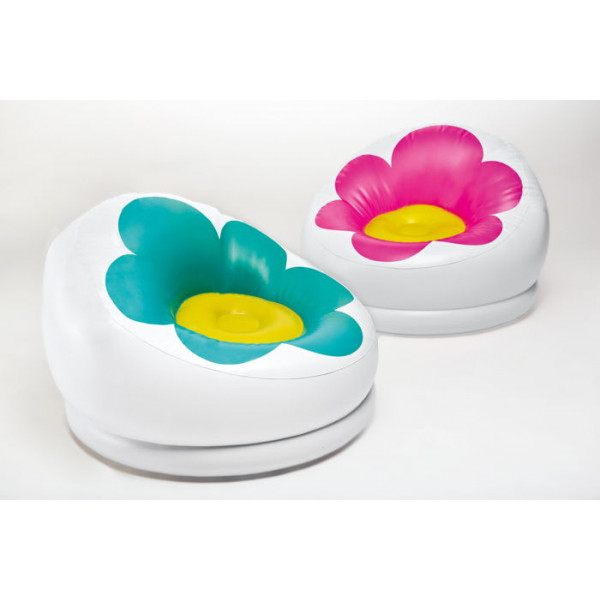 Pouf gonflable Intex Blossom Chair