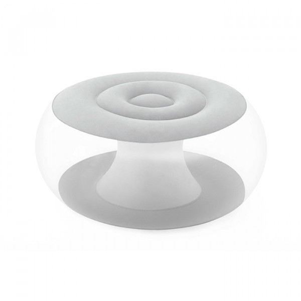 Pouf gonflable rond Bestway avec LED multicolore