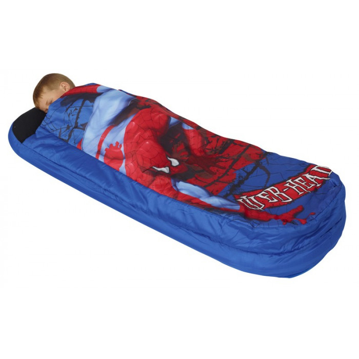 matelas gonflable spiderman lit gonflable spiderman ancien mod le. Black Bedroom Furniture Sets. Home Design Ideas