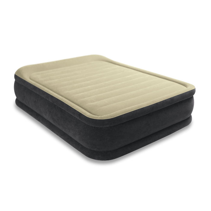 Matelas lectrique gonflable 2 places elevated airbed for Intex matelas gonflable electrique