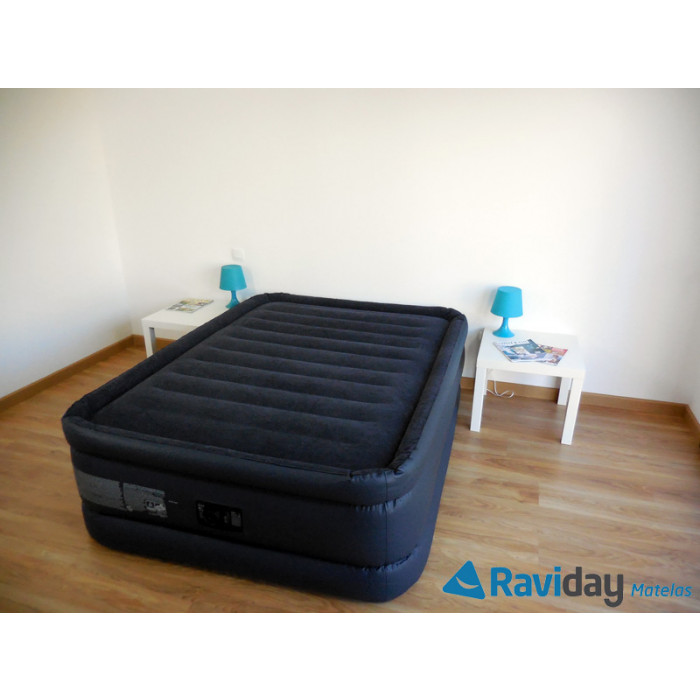 Matelas gonflable intex raised downy bed fiber tech 2 places - Matelas gonflable intex 2 places ...