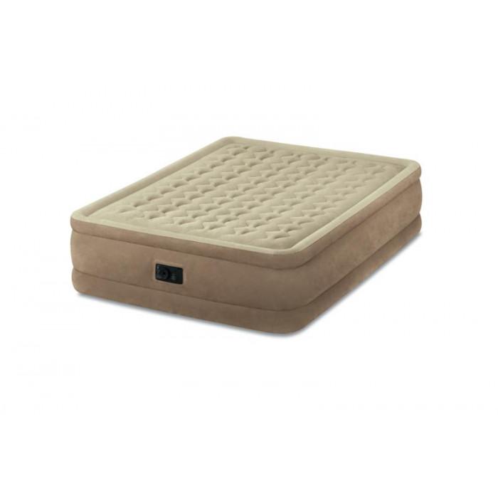 matelas gonflable intex ultra plush fiber tech 2 places. Black Bedroom Furniture Sets. Home Design Ideas