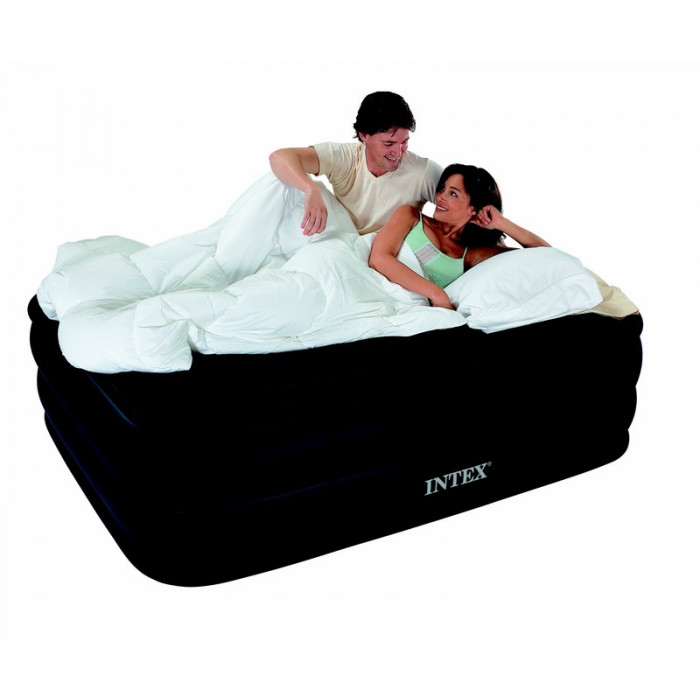 Lit gonflable deux personnes intex raised downy bed - Lit gonflable 1 personne ...