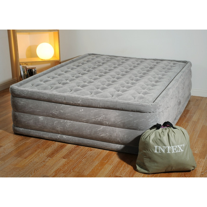 matelas intex ultra plush 2 places lit gonflable lectrique 2 personnes. Black Bedroom Furniture Sets. Home Design Ideas