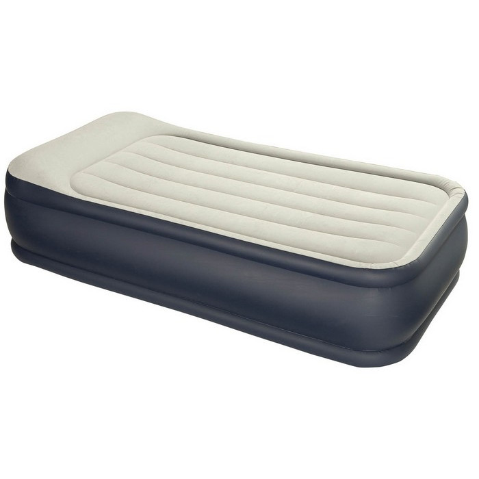 Matelas Intex Rest Bed Deluxe Lit Gonflable Lectrique 1 Place