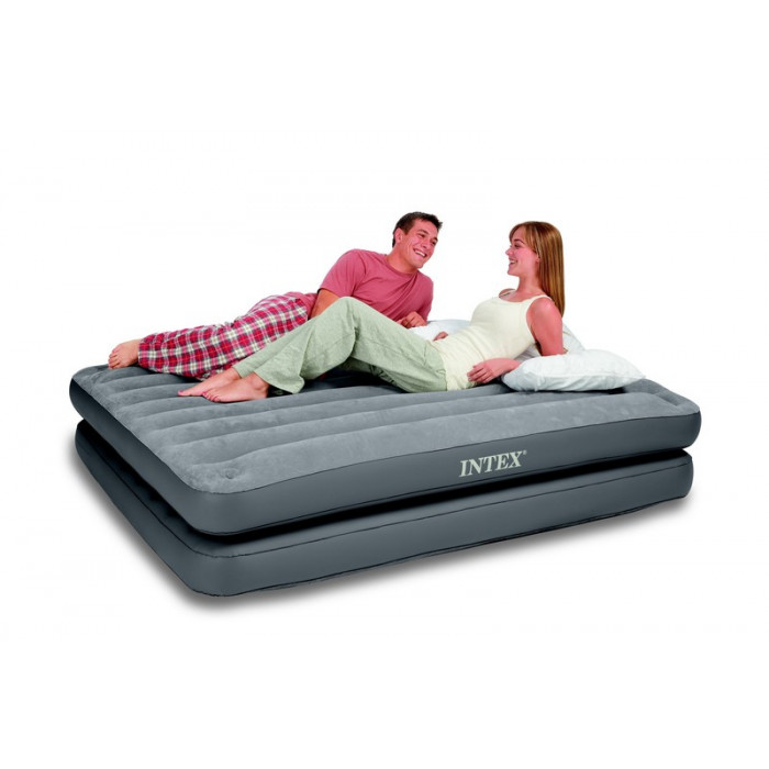 matelas 2 personnes 2 en 1 intex raviday matelas. Black Bedroom Furniture Sets. Home Design Ideas