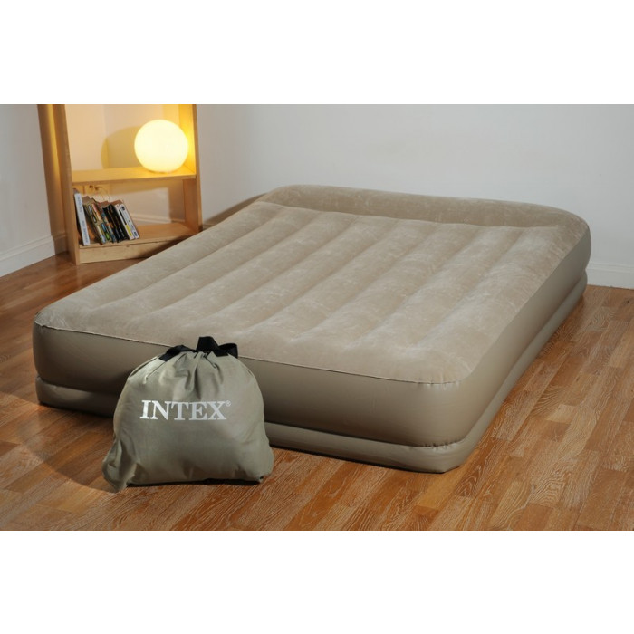 matelas lectrique gonflable 2 personnes intex mid rise. Black Bedroom Furniture Sets. Home Design Ideas