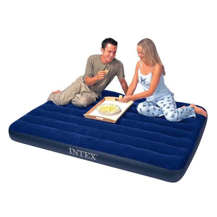 matelas gonflable 2 personnes downy classic intex raviday matelas. Black Bedroom Furniture Sets. Home Design Ideas