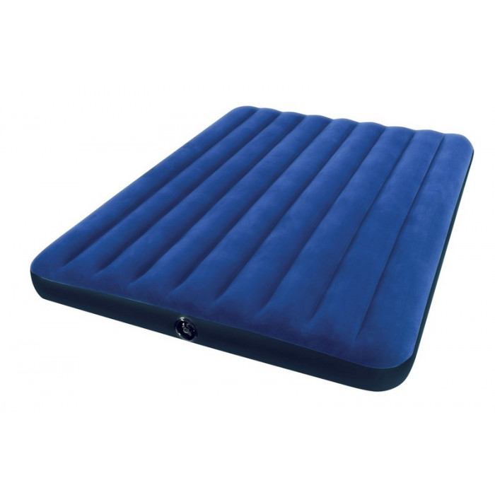 matelas gonflable 2 places intex downy classic xl