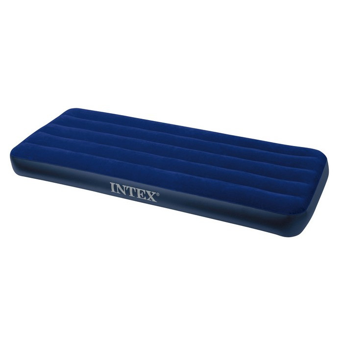 Matelas Gonflable 1 Personne Lit D Appoint Intex Downy Classic