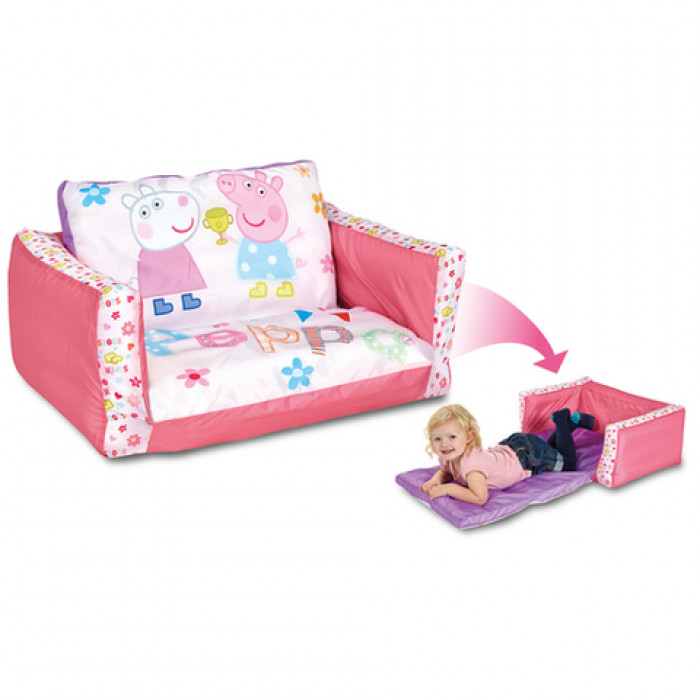canap lit gonflable readybed peppa pig raviday matelas. Black Bedroom Furniture Sets. Home Design Ideas