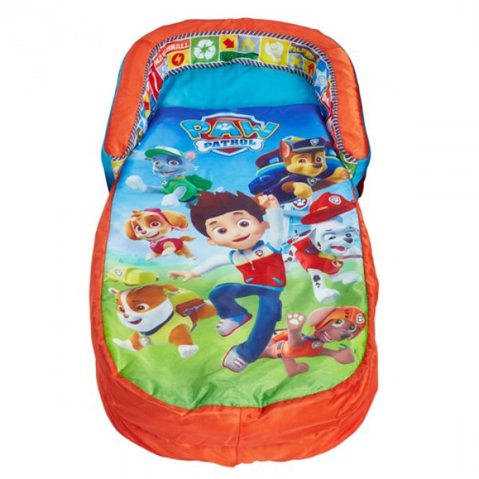 Matelas gonflable enfant readybed pat patrouille d s 18 mois - Matelas gonflable avec sac de couchage integre ...