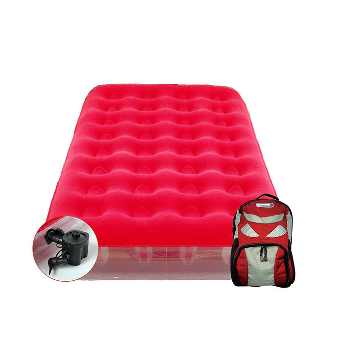 Matelas gonflable aerobed sleepover avec sac dos - Matelas gonflable aerobed ...