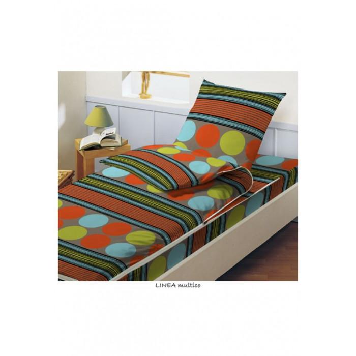Caradou 140x190 cm Multicolore Linéa - BLEU CALIN - EP