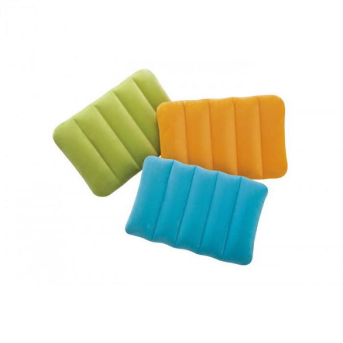 Oreiller gonflable Intex - Couleur Aléatoire