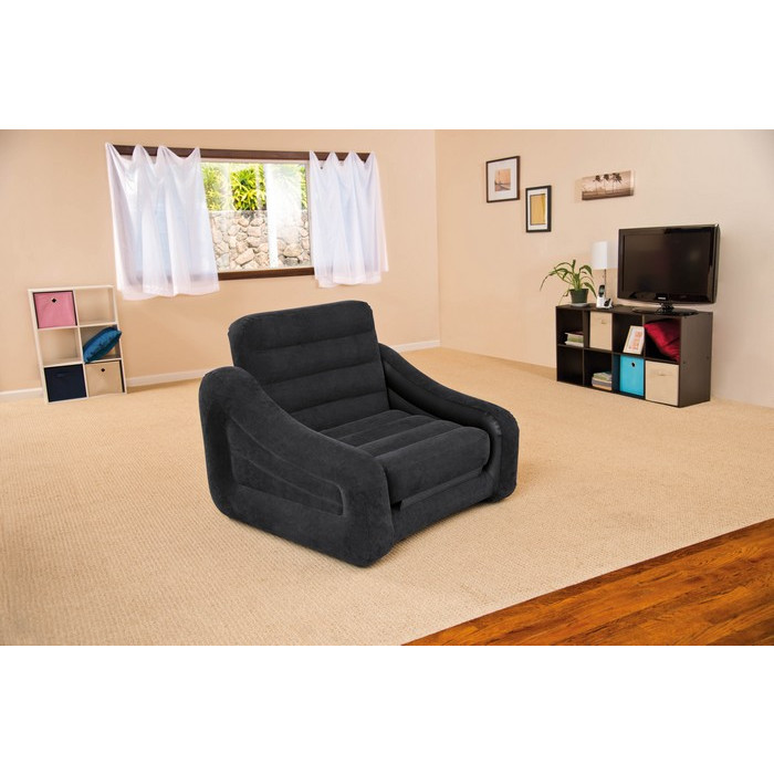 Fauteuil gonflable convertible matelas intex chauffeuse - Canape gonflable intex ...