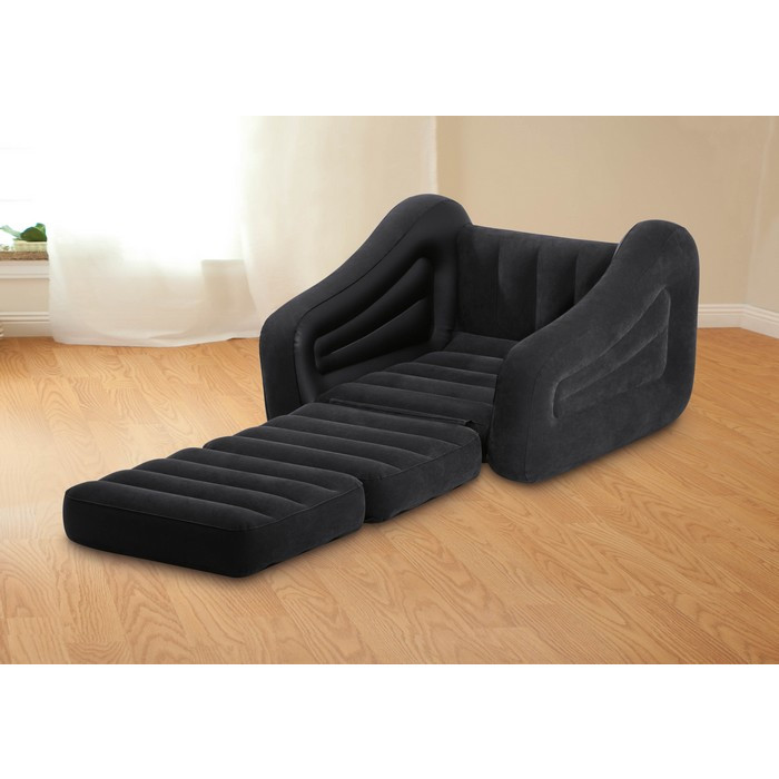 Fauteuil Gonflable Convertible Matelas Intex Chauffeuse Gonflable