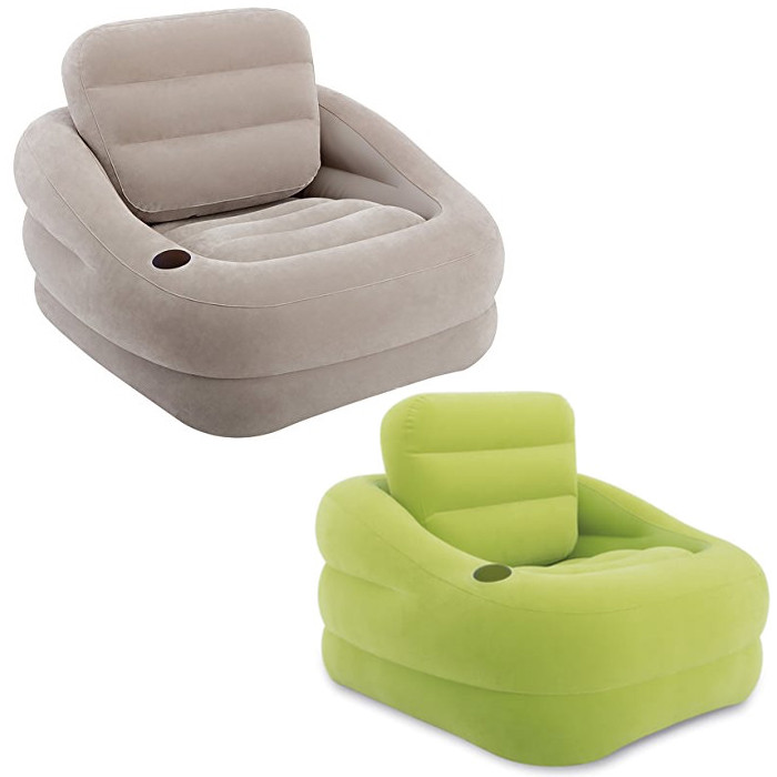 fauteuil gonflable intex square raviday matelas. Black Bedroom Furniture Sets. Home Design Ideas