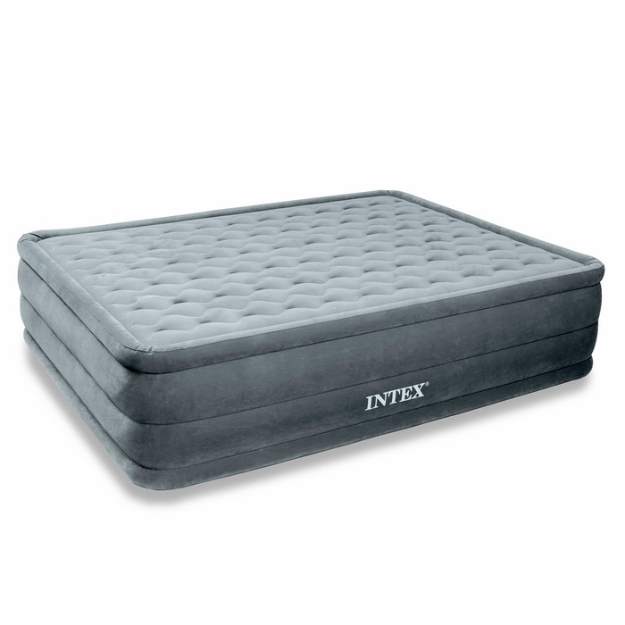 Matelas intex ultra plush 2 places lit gonflable for Intex matelas gonflable electrique
