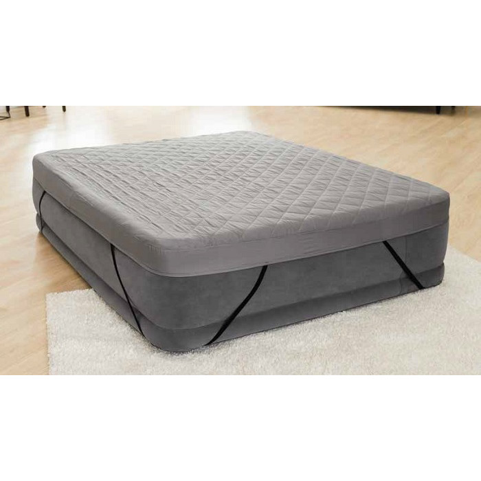 surmatelas 2 places pour matelas gonflable intex 152 x 203 cm raviday matelas. Black Bedroom Furniture Sets. Home Design Ideas