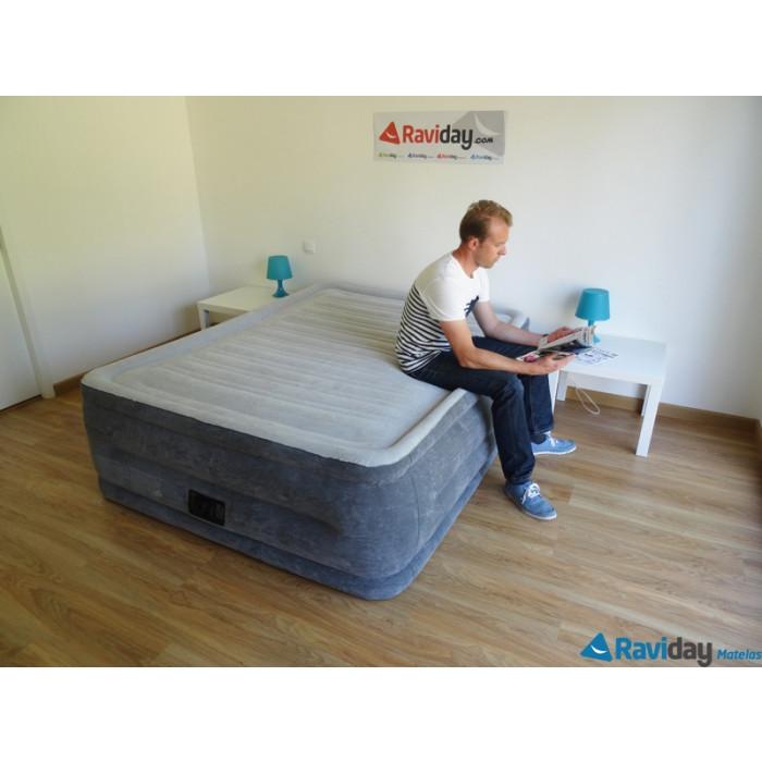 Lit Gonflable Intex Comfort Plush High Fiber Tech 2 Places