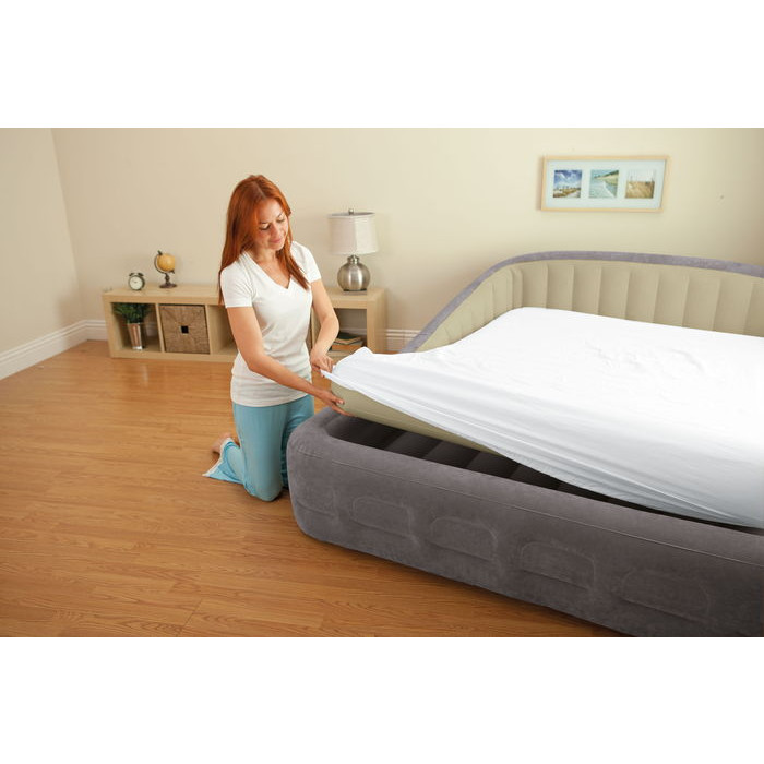 lit gonflable intex comfort frame xxl matelas gonflable 2 personnes. Black Bedroom Furniture Sets. Home Design Ideas