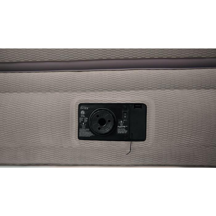 matelas lit gonflable intex prime comfort 2 places. Black Bedroom Furniture Sets. Home Design Ideas