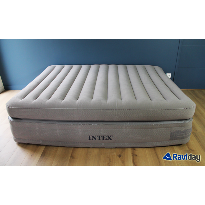 matelas lit gonflable intex prime comfort 2 places. Black Bedroom Furniture Sets. Home Design Ideas