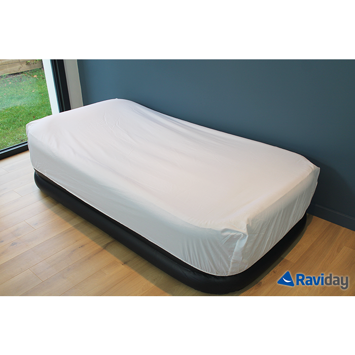 matelas gonflable intex rest bed deluxe fiber tech 1 place. Black Bedroom Furniture Sets. Home Design Ideas