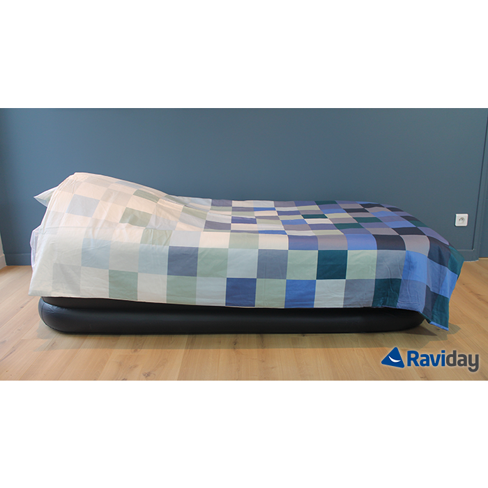 matelas gonflable intex rest bed deluxe fiber tech 1 place. Black Bedroom Furniture Sets. Home Design Ideas